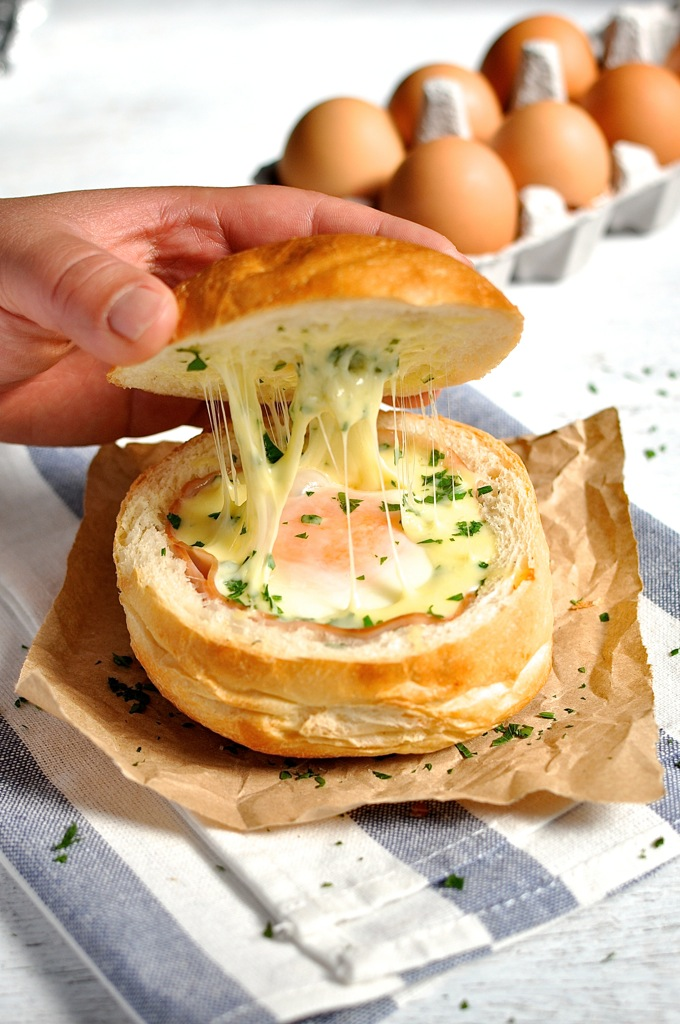 ham-egg-cheese-bread-bowls
